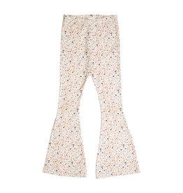 Petit Blush Bowie flared pants Floral print