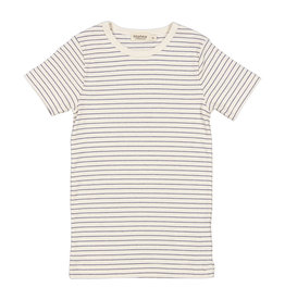 MarMar Copenhagen T-shirt Short Sleeve Blue Stripe