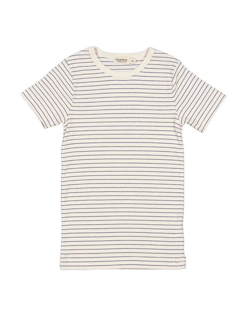 MarMar Copenhagen T-shirt Short Sleeve Blue Stripe