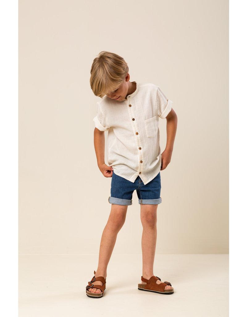 MarMar Copenhagen Theodor MuslinT-shirt Off White