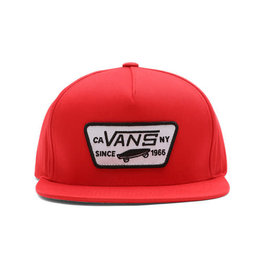 Vans Full Patch Snapback Cap Red