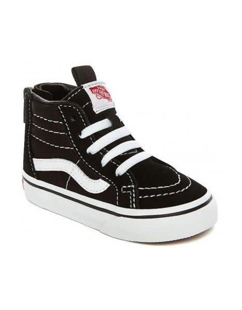 Vans Toddler SK8-Hi Zip Black/White