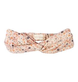 Petit Blush Twisted headband Floral print