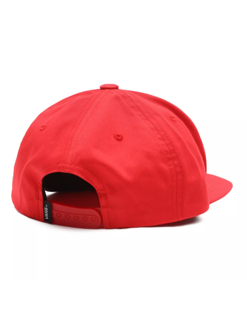Vans Full Patch Snapback Cap Red