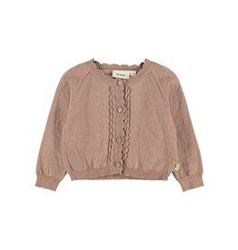 Lil' Atelier Short Knit Cardigan Roebuck