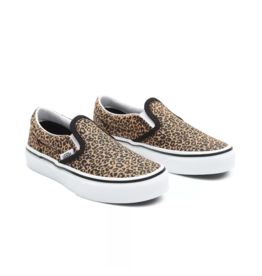 Vans Youth Classic Slip-On Leopard/Black