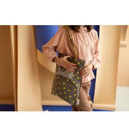 Sticky Lemon Sticky Lemon tote bag | sprinkles - corduroy  Lemon pigeon blue