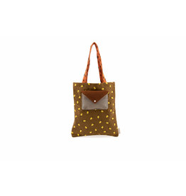 Sticky Lemon Tote bag | sprinkles - corduroy  Lemon dijon + gingerbread