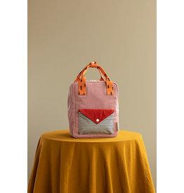 Sticky Lemon Sticky Lemon backpack small Corduroy envelope dusty pink