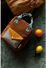 Sticky Lemon Backpack small  Corduroy envelope walnut brown