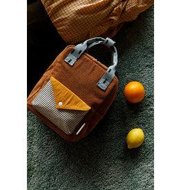 Sticky Lemon Sticky Lemon backpack small  Corduroy envelope walnut brown