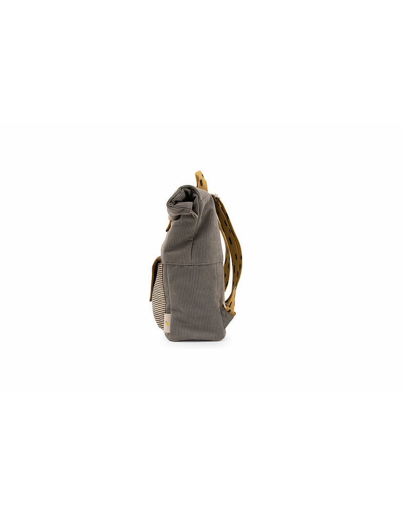 Sticky Lemon Backpack Large Corduroy envelope - pigeon blue