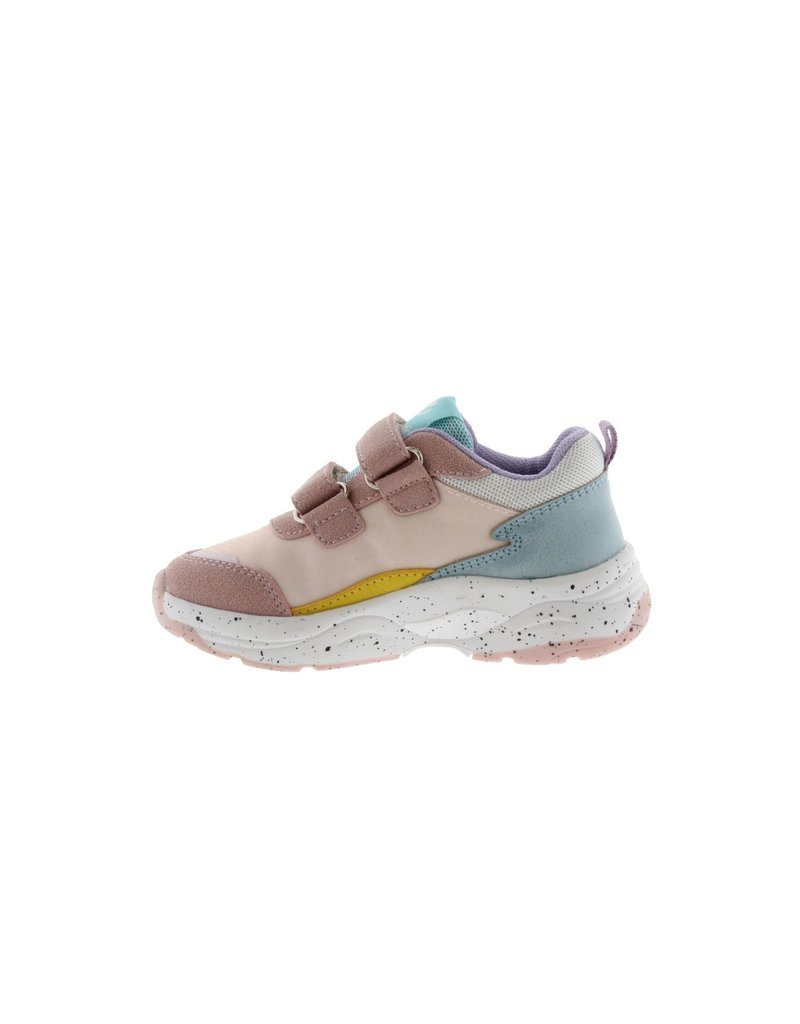Victoria Sneakers Nylon Straps Pink