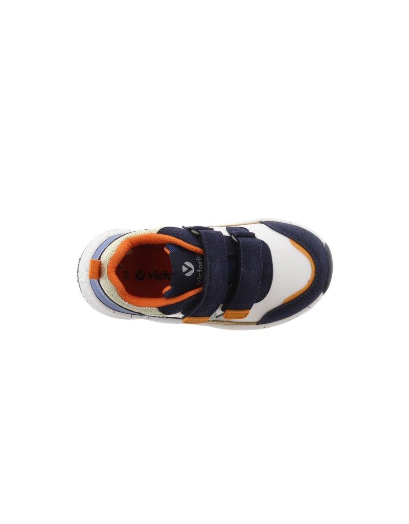 Victoria Sneakers Nylon Straps Deep Blue