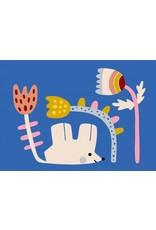 Petit Monkey Postcard Little mouse