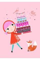 Petit Monkey Postcard Happy Birthday
