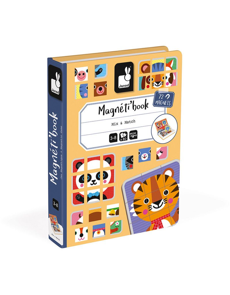 Janod Magnetibook - Mix & Match