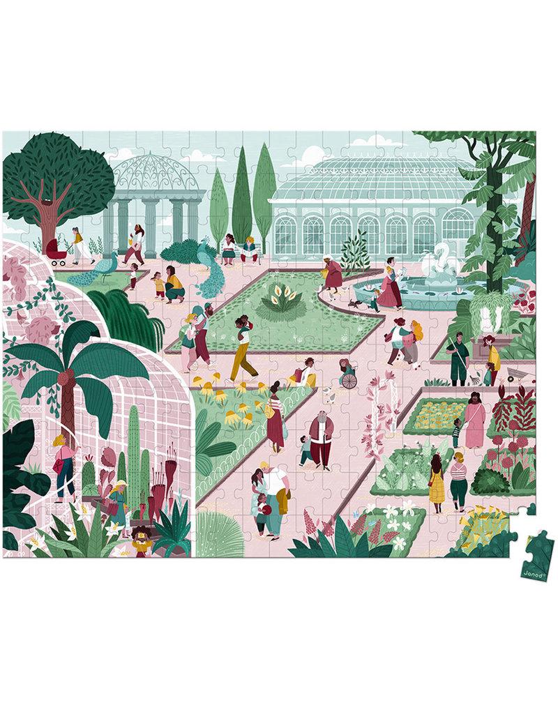 Janod Puzzel - De Botanische Tuin 200 Stukjes