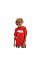 Vans Classic T-Shirt Red/ White