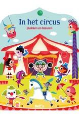 Boeken In het circus: plakken en kleuren