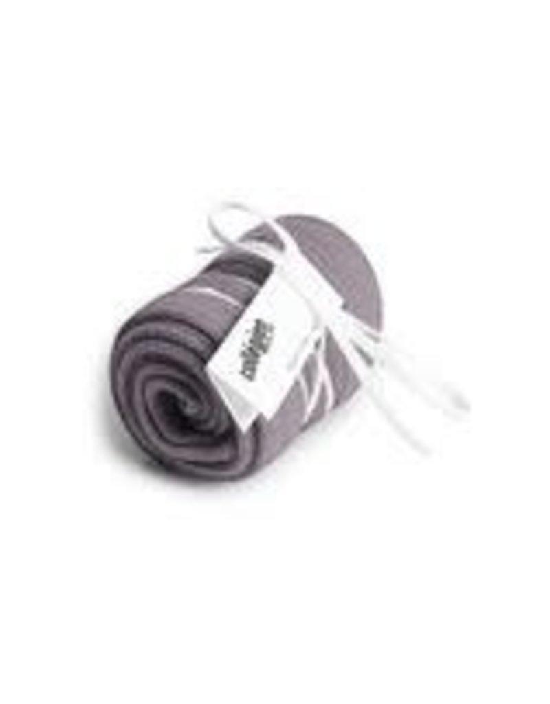 Collégien La Haute - Ribbed Knee-high Socks - Glycine du Japon