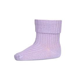 mp Denmark Cotton Rib Sock Lila 4003