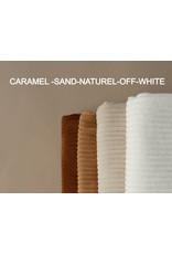 Nanami Wrapblanket Ribvelvet Caramel