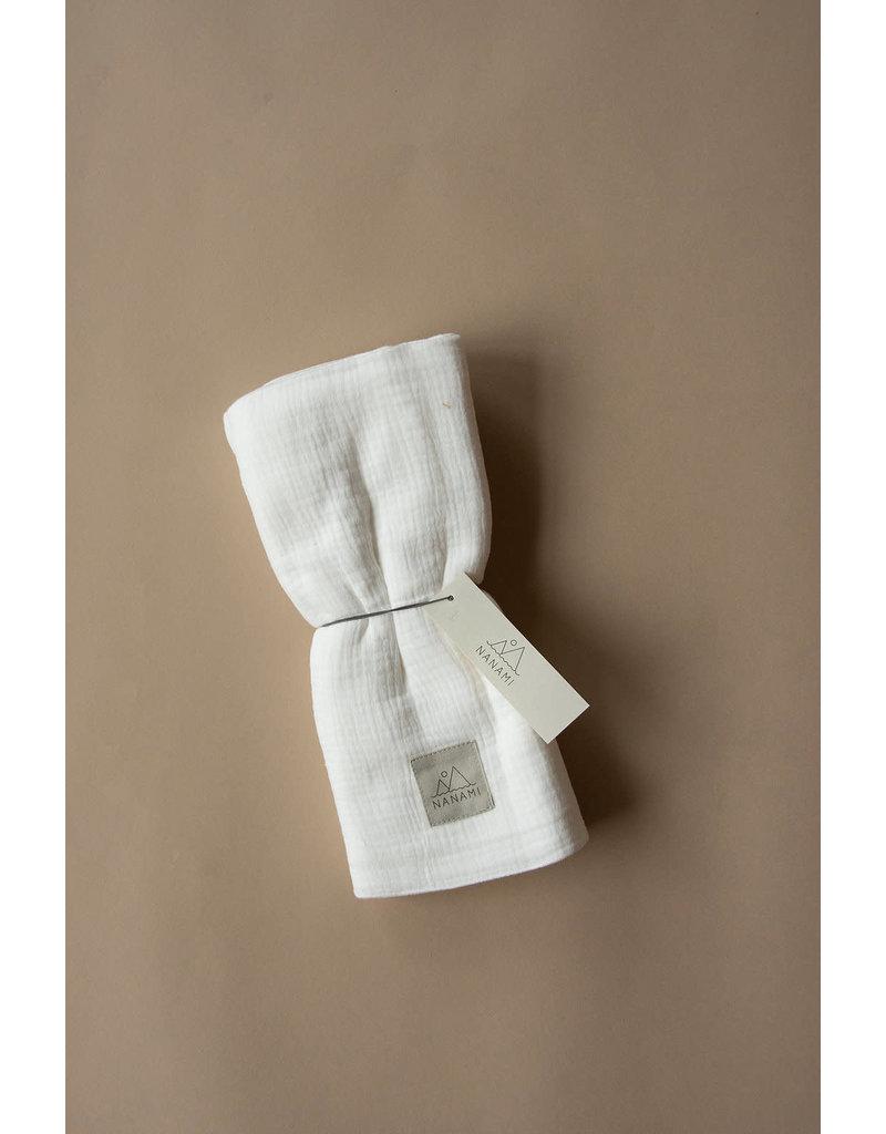Nanami Swaddle Uni Mousseline Off White