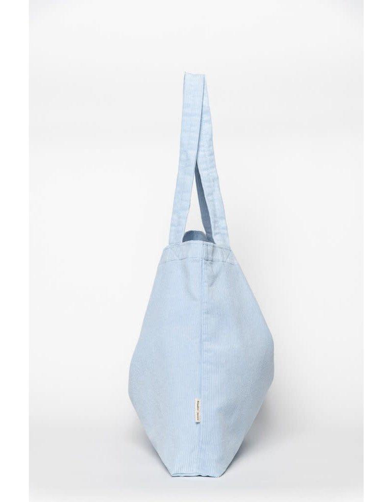 Studio Noos Baby Blue rib mom-bag