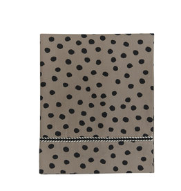 Mies & Co Wieglaken bold dots dark brown