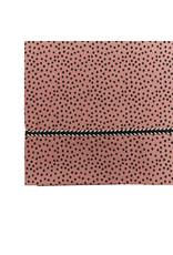Mies & Co Baby crib sheet cozy dots redwood