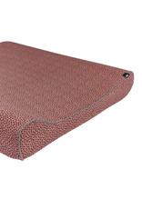 Mies & Co Aankleedkussenhoes cozy dots redwood