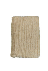 Mies & Co Soft mousseline blanket toddler bed Honey Mustard