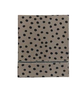 Mies & Co Toddler bed sheet bold dots