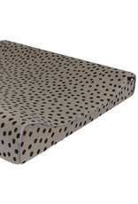 Mies & Co Aankleedkussenhoes bold dots dark brown