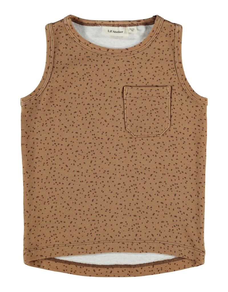Lil' Atelier Loose Top Tabacco Brown