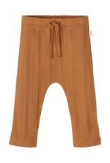 Lil' Atelier Loose Pants Tabacco Brown