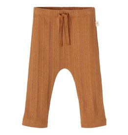 Lil' Atelier Loose Pants Tobacco Brown