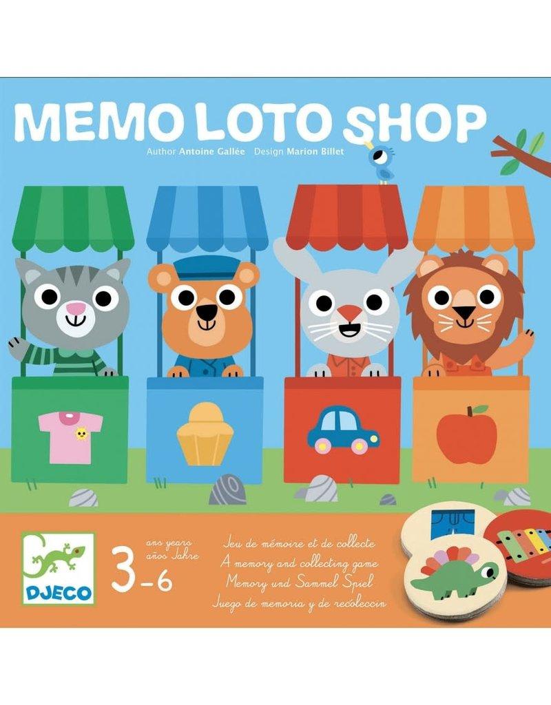 Djeco Mémo Loto shop