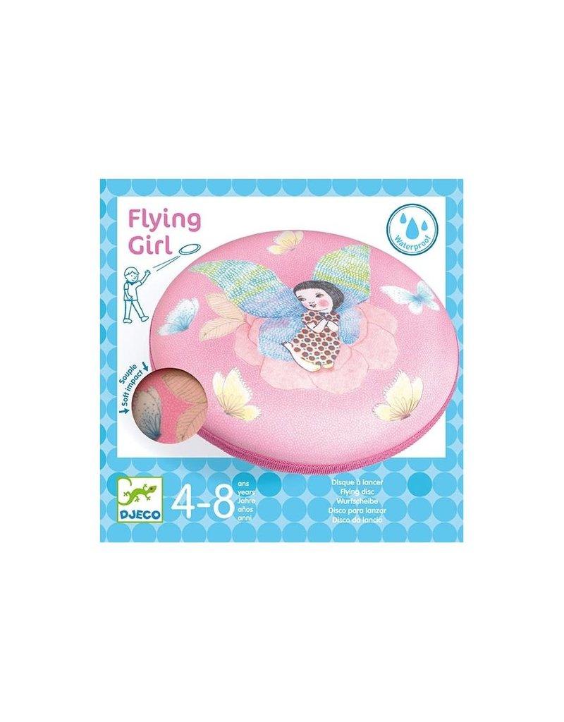 Djeco Flying Girl Frisbee