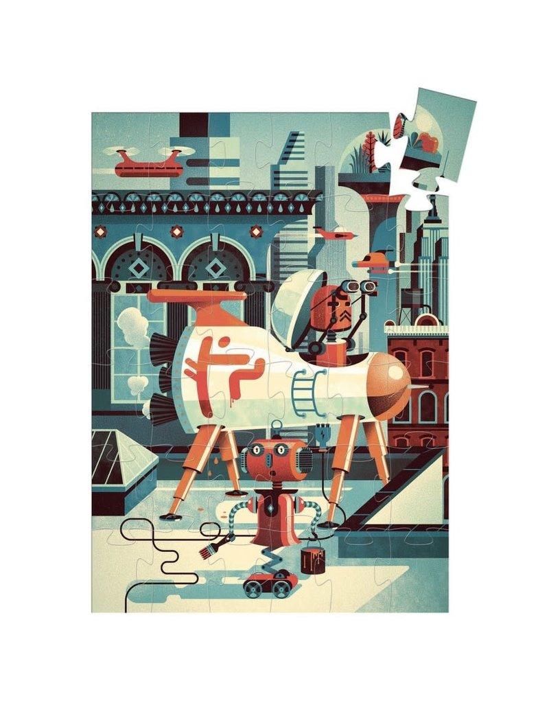 Djeco Puzzel Robot 36 stukjes