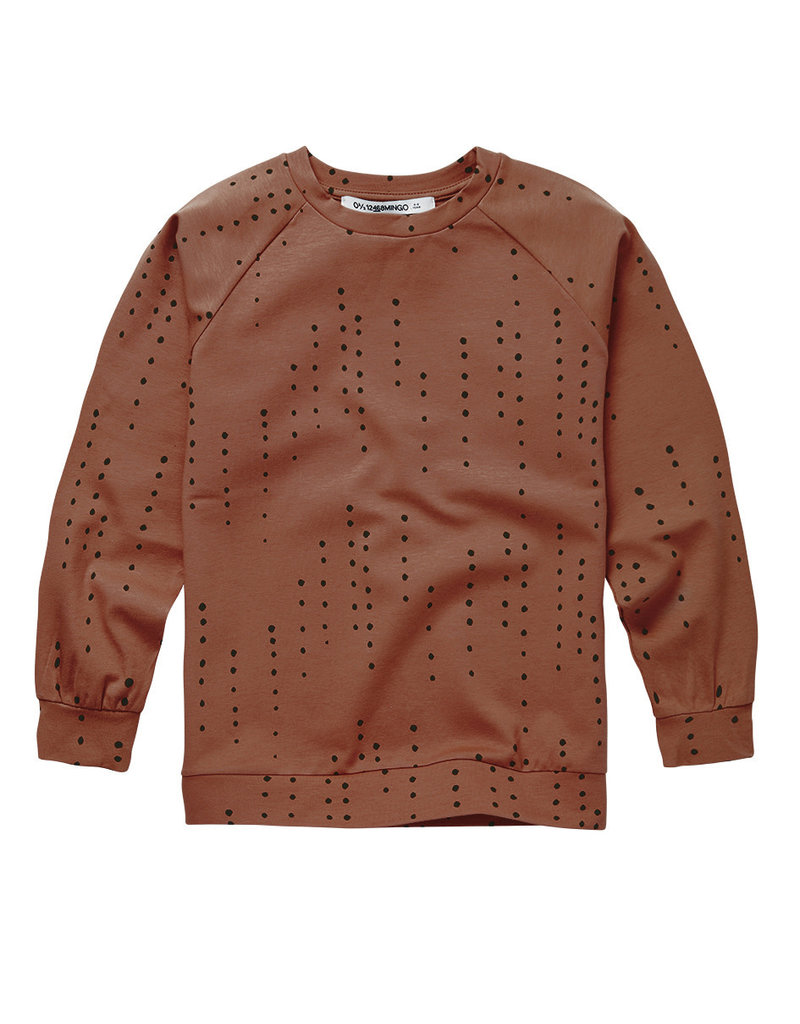 Mingo Long Sleeve Dewdrops on Burnished Leather