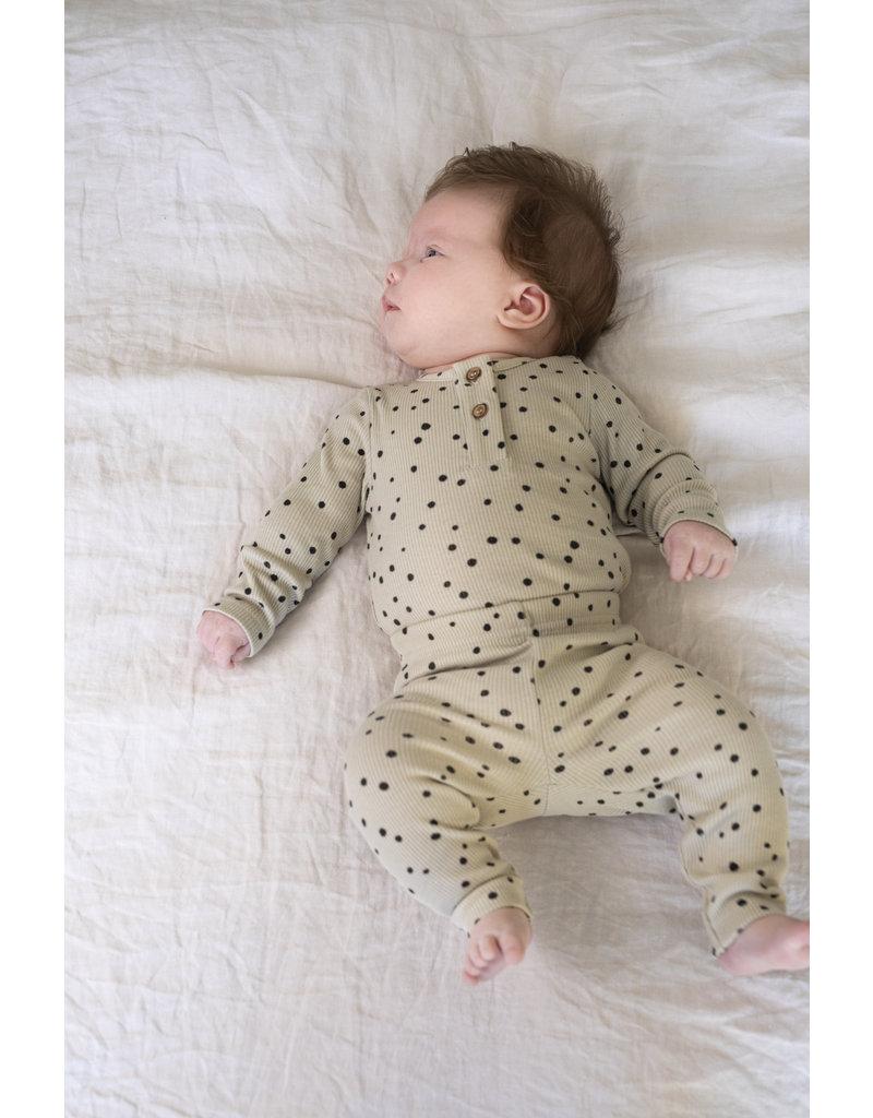 Mingo Rib Bodysuit Dots