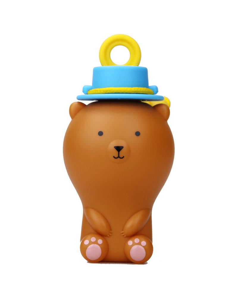 Uncle Bubble Fun Anti-Spill Pals - Brown Bear