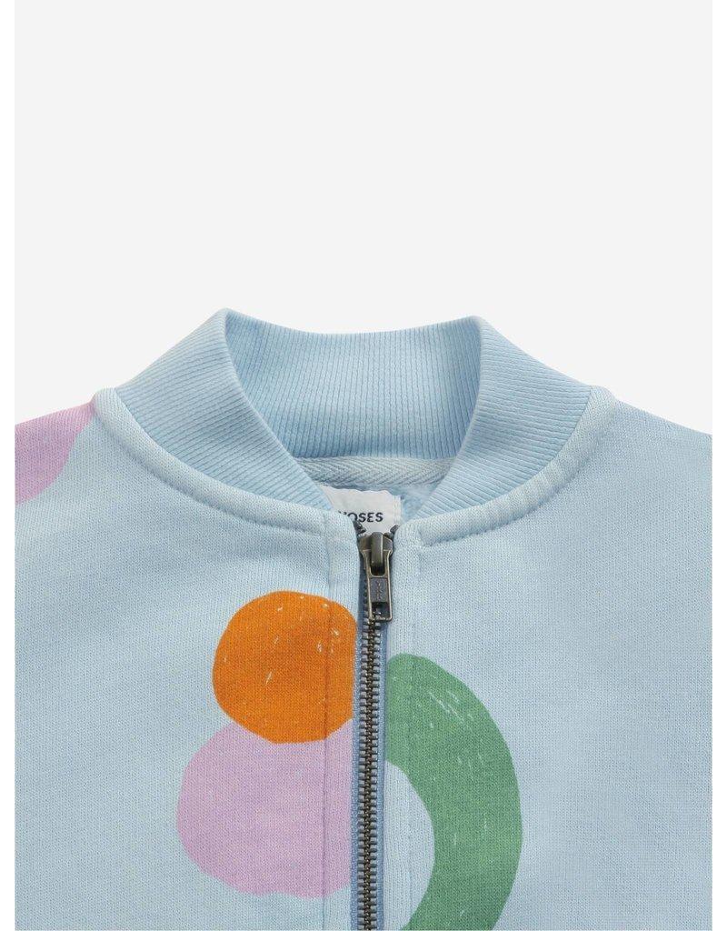 Bobo Choses Fruits All Over zipped sweatshirt