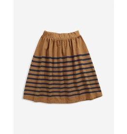 Bobo Choses Stripped jersey midi skirt