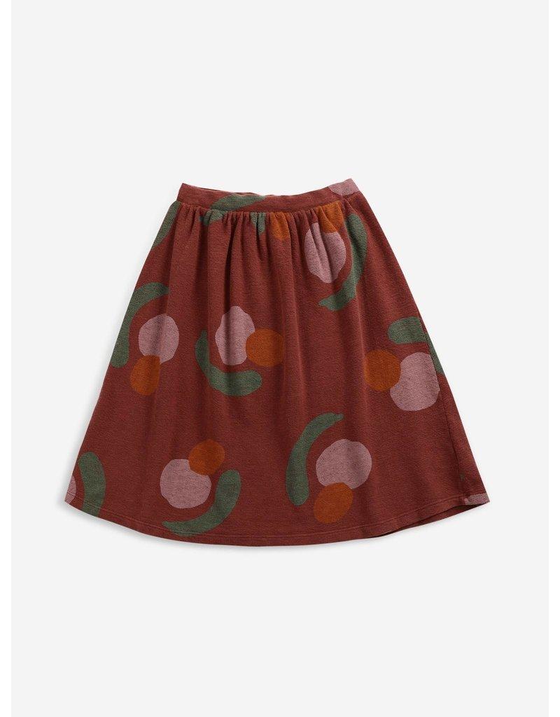 Bobo Choses Fruits All Over jersey midi skirt