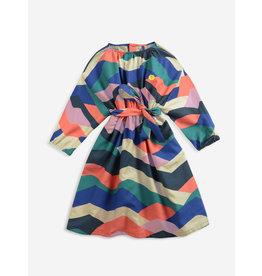Bobo Choses Multi color block woven dress