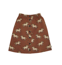 CarlijnQ Wild Horse - skirt wt buttons, french terry