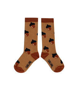 CarlijnQ Knee socks - acorn